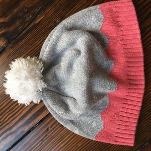 Hanna Anderson Pom Pom Hat